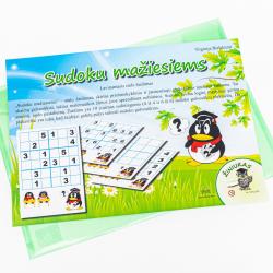 Žaidimas. Sudoku mažiesiems