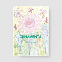 Ornaments. Colouring book