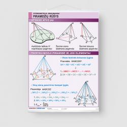 Piramidžių rūšys