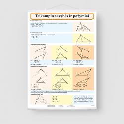 Trikampių savybės ir požymiai