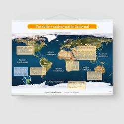 Pasaulio vandenynai ir žemynai