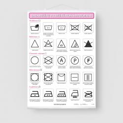 Drabužių priežiūros simboliai
