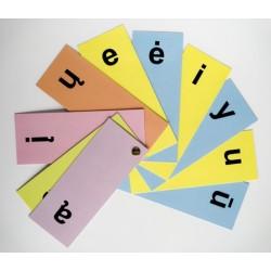 Garsinės analizės kortelės....